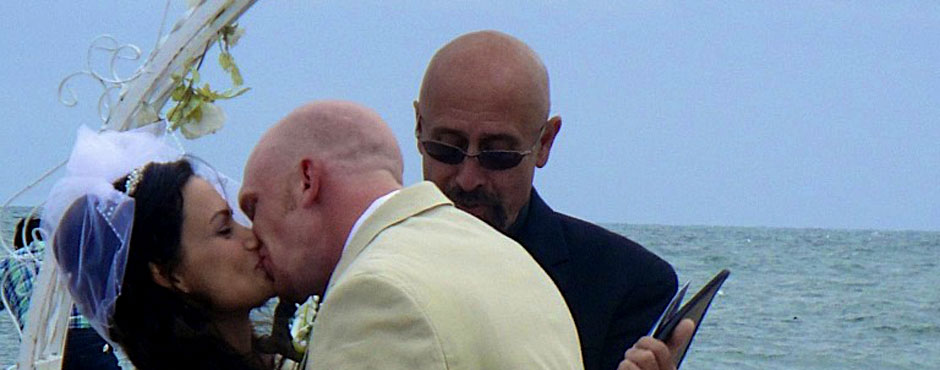 <h1>Reverend Philip Scisione Wedding Officiant from TwoHeartsOneLove.Me</h1><p></p>